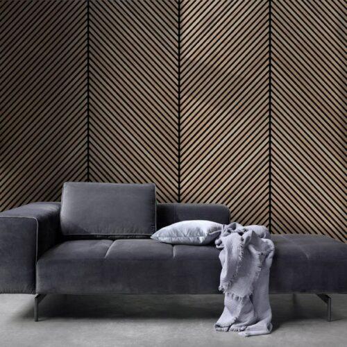 Panel de madera Punta Hungría Chevron