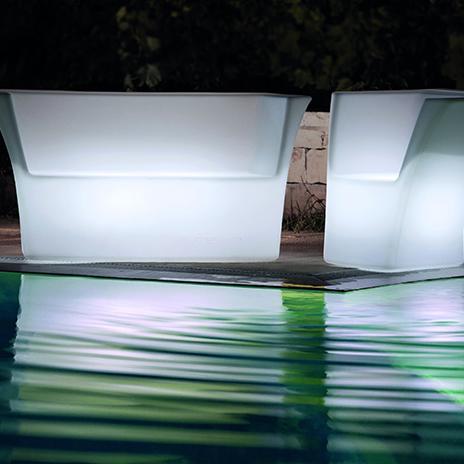Sofá LED